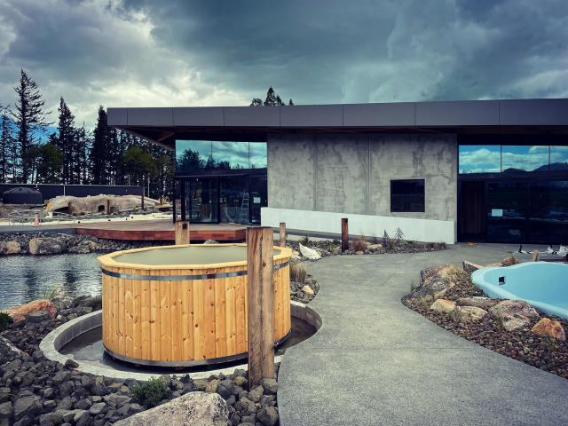 The Opuke Thermal Pools & Spa should open next month. Photo: Facebook