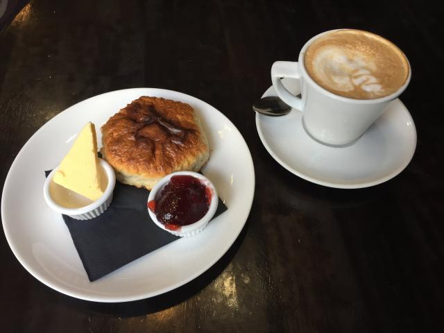 Some cafes cut triangles of butter, others still use butter in single-serve plastic packs. PHOTO:...