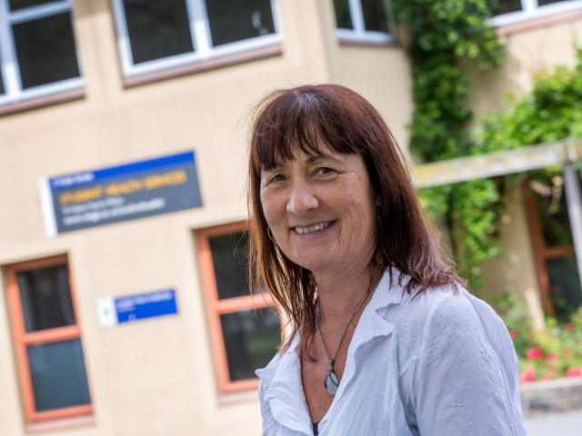 University Student Health Services head Margaret Perley says a new telehealth service has reduced...
