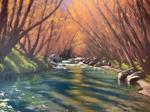 Lindis River  by Philip Beadle.