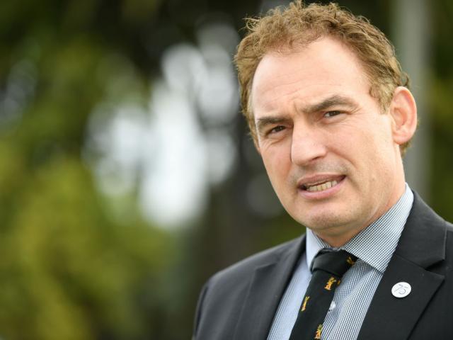 Police Minister Stuart Nash. Photo: Getty