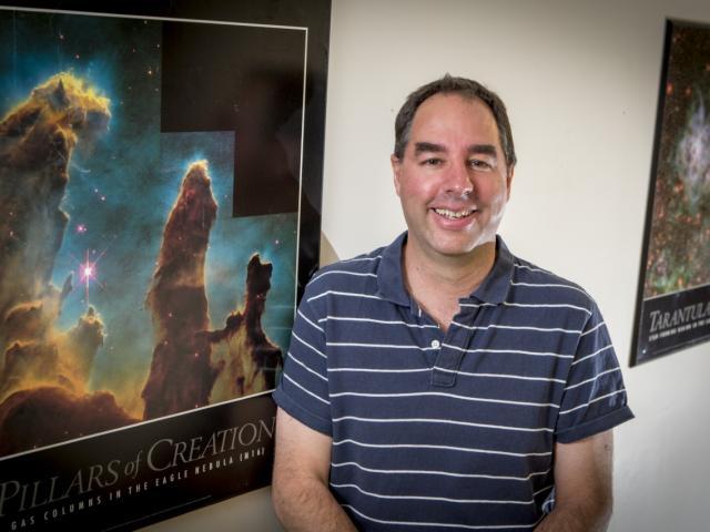 Associate Professor Michael Albrow. Photo: UC