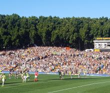 Wests Tigers versus Canberra Raiders at Leichardt Oval, Sydney.PHOTOS: DAVID LOUGHREY...