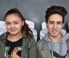 Mykayla Nicolson and Brandon Bevin, both of Christchurch.