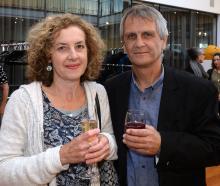 Liz Berry and Martin Chamberlain, both of Dunedin.