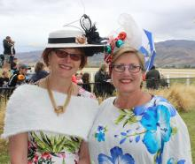 Simone Montgomery, of Port Chalmers, and Sue Hunt, of Timaru.