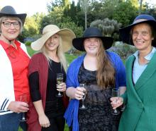 Trish Shaw, Kim Rosenbrock, Libby Tyree-Mobbs and Alison Wadworth, all of Dunedin.