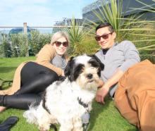 Stella Cameron, of Dunedin, Roger (1), and Matthew Morahan, of Balclutha.