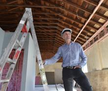 Environmental engineer Dave Hanan is pleased with the transformation of 135 Cumberland St after...