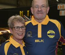 Natalie McElhinney and Allen Mill, both of Mosgiel.