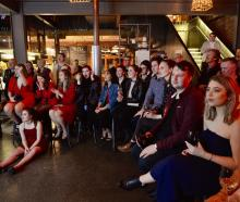 Labour supporters at Vogel Street Kitchen, Dunedin. Photo: Gerard O'Brien