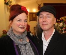 Annette Faulkner and Grant Puddle, both of Oamaru.
