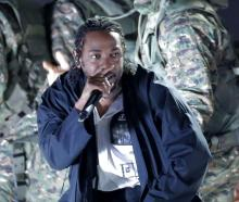 Kendrick Lamar (pictured at a previous concert) entertained thousands of fans in Dunedin last night. Photo: Reuters
