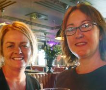 Diane Saville and Juanita Doherty, both of Queenstown.