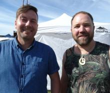 Chris Ormandy and Damien Goodsir, both of Oamaru.