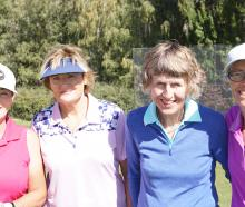 Holly Davies, Margo Hewitt, Suzie Baillie and Carmel Hyndman, all of Wanaka.