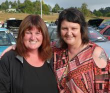 Suzanne Wilson and Karen Hale-Pauley, both of Dunedin. Photos: Richard Davison