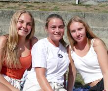 Johanna Salerius, Siobhan Jansson and Magdalena Raimundo, all of Sweden.