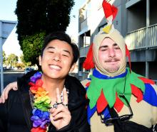 Hyun Kim (21), of Auckland, and Josh Boardman (21), of Oamaru.