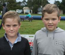 Charlie (8) and Tom Blackmore (9).