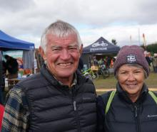 Maurie and Denise Kearns, of Whangarei.