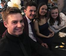 Liam Grant (17), Enzo Shaw (17), Isabelle McNeill (16) and Sam Aitken (17).