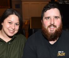 Charlotte Cairns and Stuart Eaton, both of Dunedin.