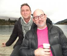 Roger and Greg Seaward-Searle, of Christchurch.