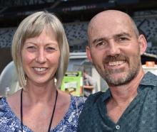 Denise and Chris Hopkins, of Dunedin. PHOTOS: GREGOR  RICHARDSON