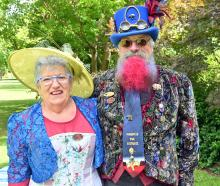 Susan and Alan Bryan, of Dunedin.