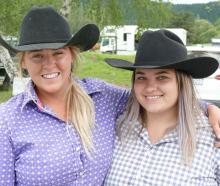 Aby West (left) and Jess Johnston, both of Rangiora.