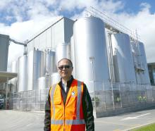 Danone Nutricia NZ operations director Leon Fung at the company's Clydevale, South Otago, plant...