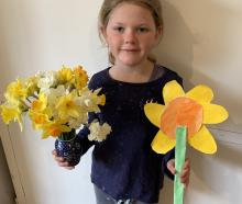 Harriet White-Waterton is smelling nothing but daffodils in her daffodil- themed picture. PHOTOS:...