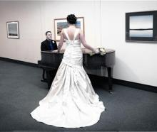 Aimee Jacobs who married Andrew McSweeney at Mt Cook in May. Photo by Aspiring Photography.