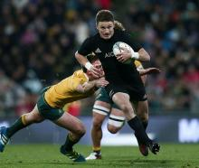 Beauden Barrett has 40 test caps for the All Blacks. Photo: Getty Images