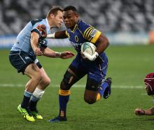 Naulia Dawai scores the first try of the game for Otago. Photo: Getty Images
