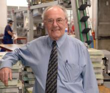 Allied Press operations director Ray Clarkson retired yesterday after nearly 50 years at the...