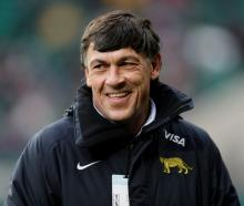 Argentina coach Daniel Hourcade. Photo Reuters