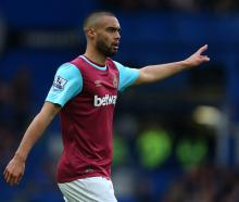 Winston Reid in action for West Ham earlier this year. Photo Getty