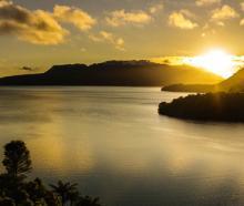 Sunrise over Mount Tarawera, Bay of Plenty. Photo: NZ Herald