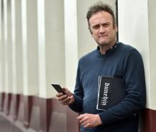 Enterprise Dunedin business adviser Antony Deaker plans to make the most of publicity from the...