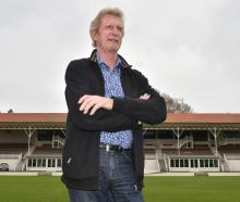 Departing Otago Cricket Association chairman Murray Hughes:  ''We've got some really good [people...