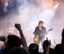 Keith Urban performs. Photo: Getty Images