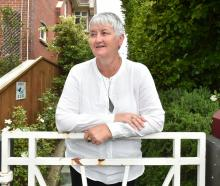 Moana House programme director Claire Aitken at 403 High St in Dunedin yesterday where a new...