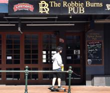 The Robbie Burns Pub is being renovated and its future will be decided in the new year.PHOTO:...
