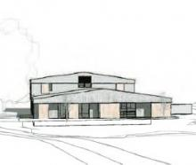 The proposed Roys Peak Lodge. Image: supplied.