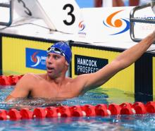 Grant Hackett at the Australian National Swimming Championships in 2015. Photo: Getty Images