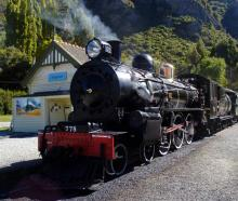 The Kingston Flyer. Photo from ODT files.