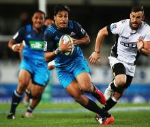 Rieko Ioane in action for the Blues last year. Photo: Getty Images