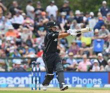 Ross Taylor in action for New Zealand against South Africa. Photo: Getty Images